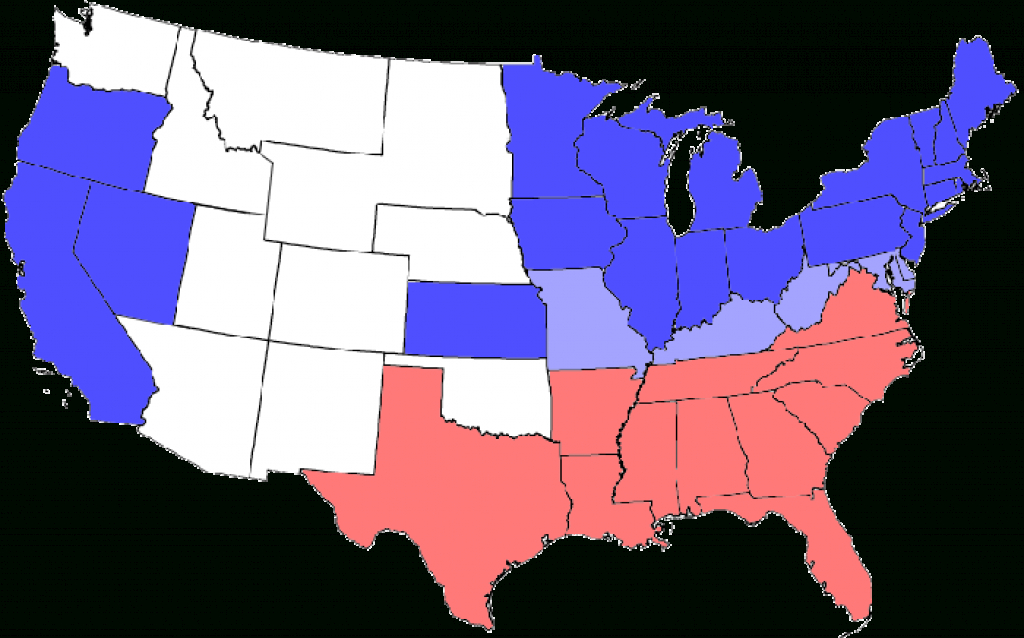 The Union In The Civil War – Legends Of America throughout Civil War Map Union And Confederate States