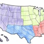 The United States Is Divided Into Five Regions. These Regions Are Regarding United States Map Divided Into 5 Regions