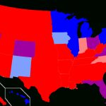 The Whole 'red State/blue State' Thing Is Backwards | Bradwarthen Regarding Red States Map 2015