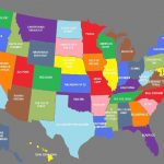 The Whole United States Map | Usa Map 2018 For Map Of The Whole United States