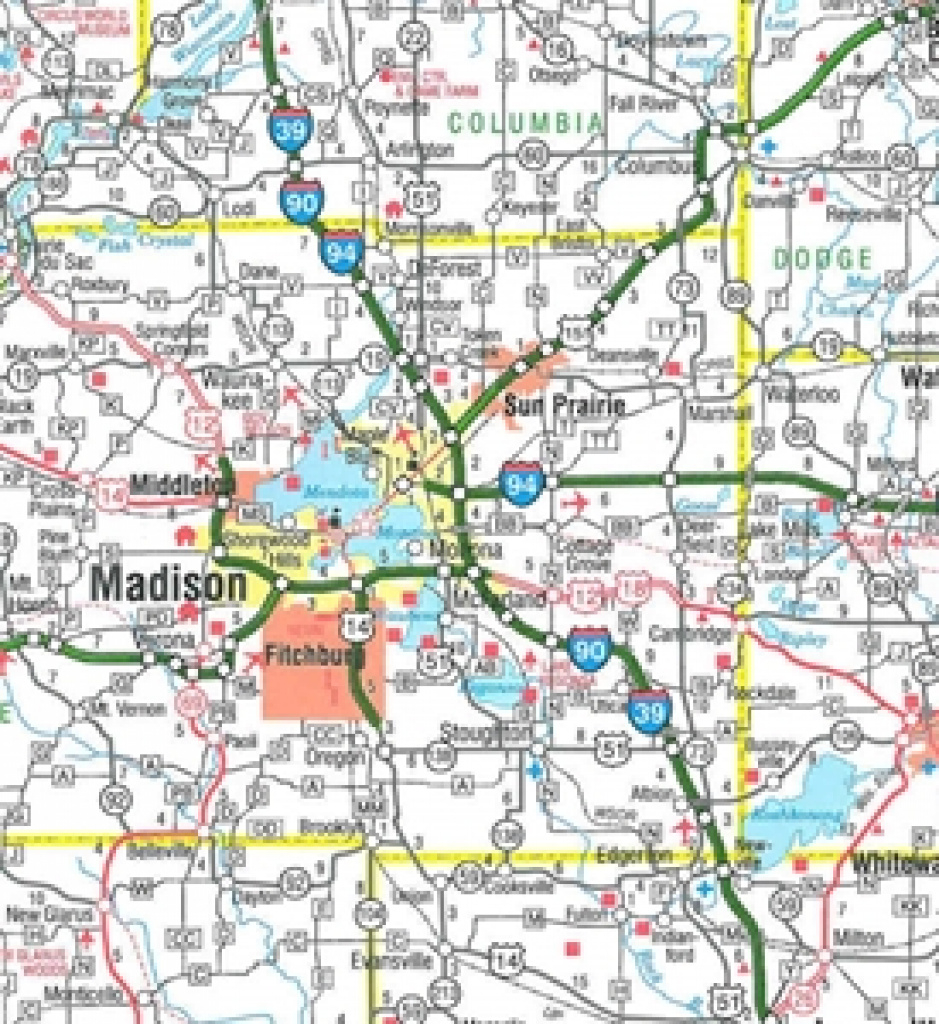 Themapstore | Wisconsin State Highway Map within State Road Maps