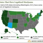 These Four States Could Legalize Recreational Weed In 2018 [Map] Pertaining To Medical Marijuana States Map
