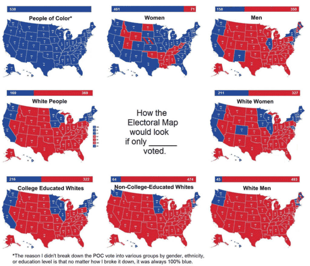 These Maps And Charts Show Where Clinton And Trump's Essential regarding Trump Support By State Map