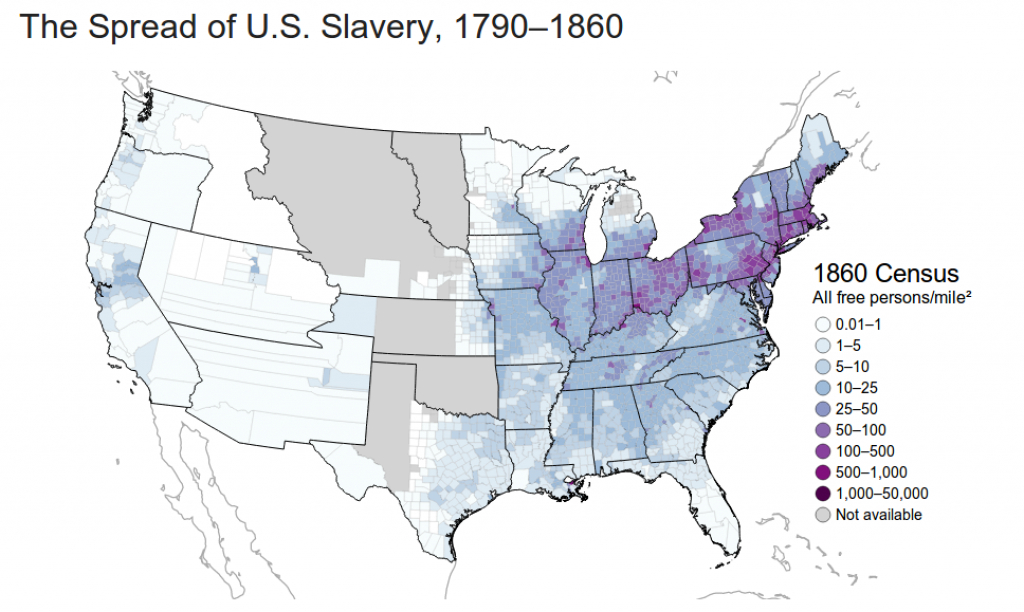 These Maps Reveal How Slavery Expanded Across The United States with regard to Map Of Slavery In The United States