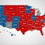These States Would Get Hurt Most In A Trump Trade War Regarding Map Of States Trump Won