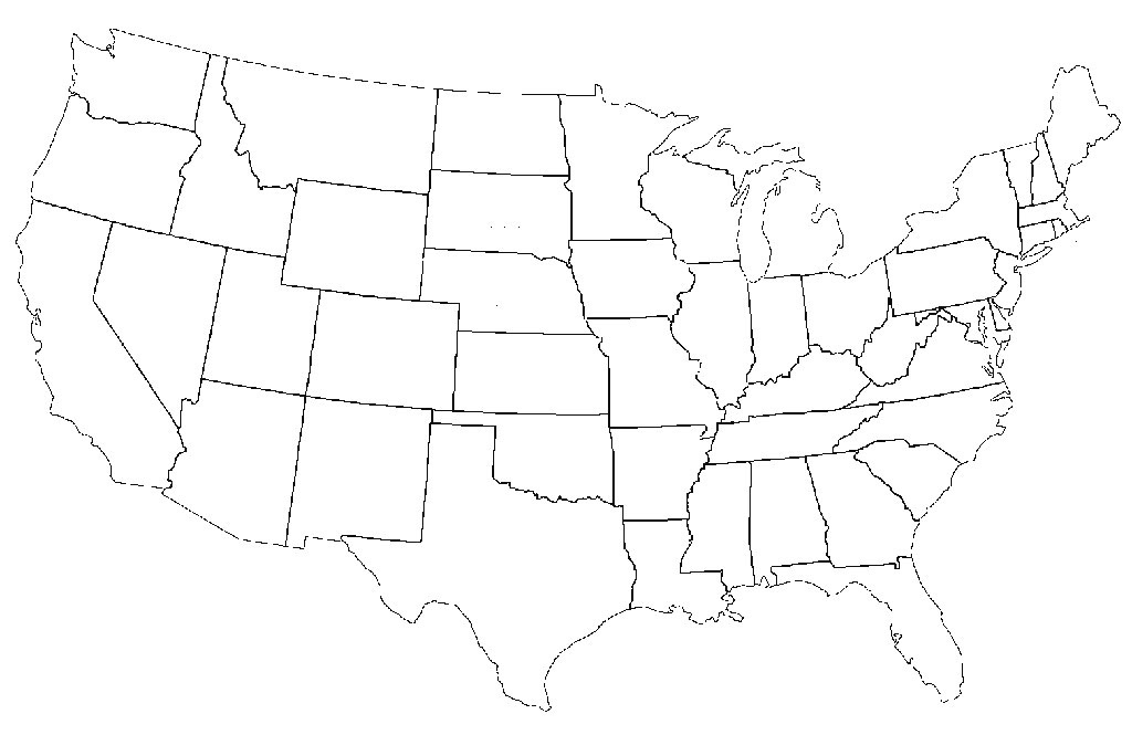 This Is What Happens When Americans Are Asked To Label Europe And with regard to A Blank Map Of The United States