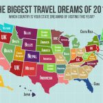 This Map Shows Where People From Each State Want To Travel The Most With Map Of Who Won Each State