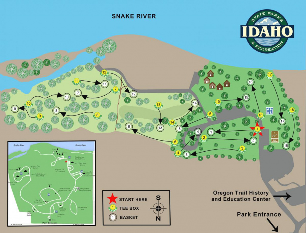 Three Island Crossing | Idaho Parks & Recreation regarding Hells Gate State Park Trail Map