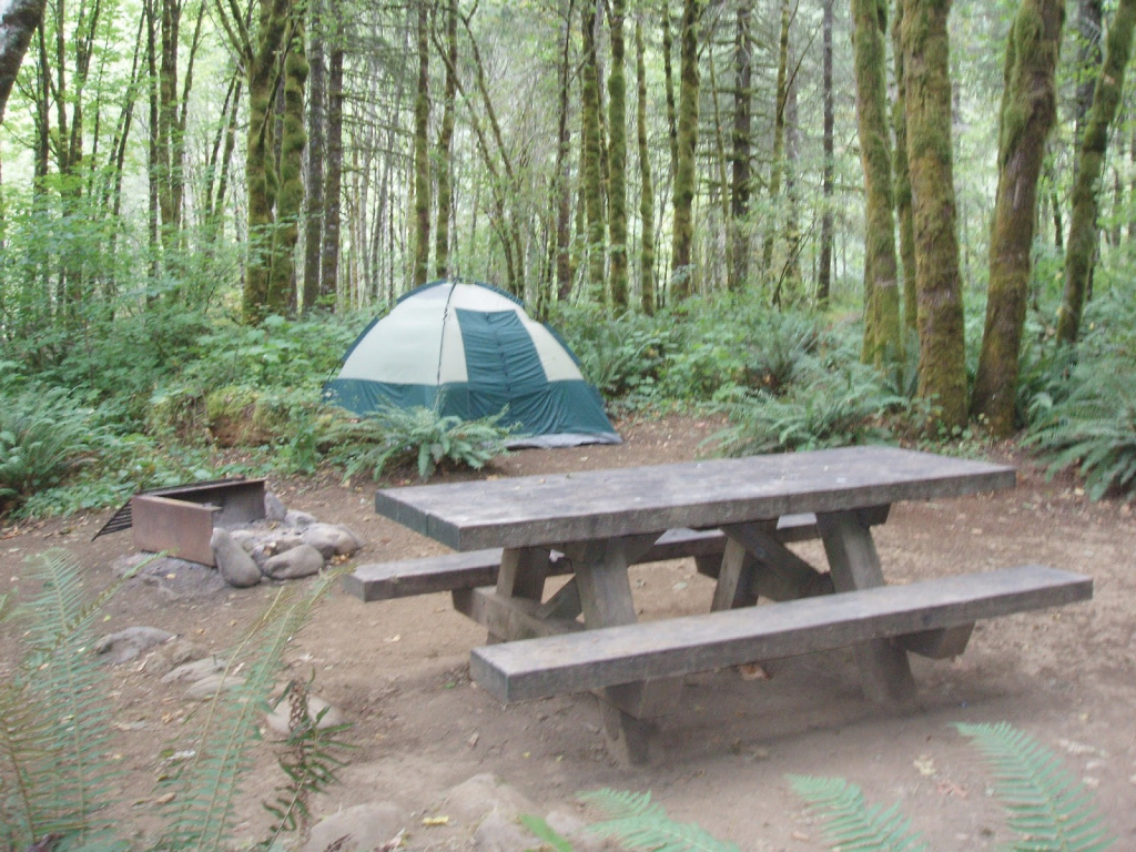 Tillamook State Forest Blog: Campgrounds with regard to Tillamook State Forest Camping Map