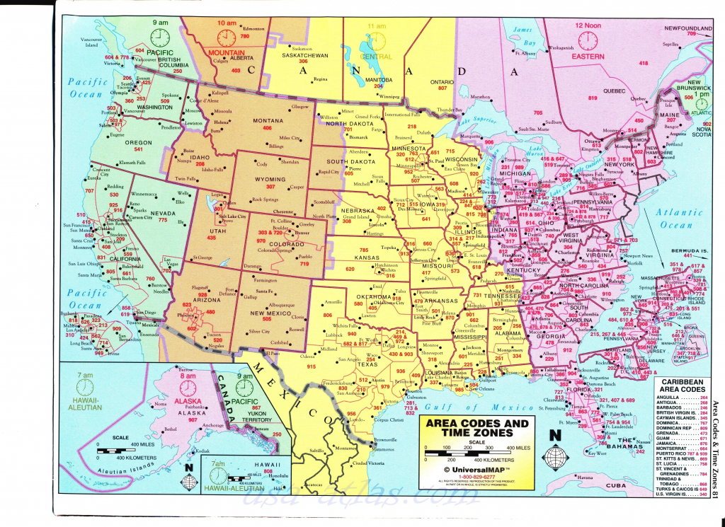 Time Zone Map For The United States Best Printable Map United States pertaining to State Time Zone Map