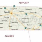Tn State Map With Cities And Travel Information | Download Free Tn Within State Map Of Tennessee Showing Cities