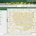 Today @ Colorado State University   Csu Launches New Campus Maps Web For Colorado State University Campus Map