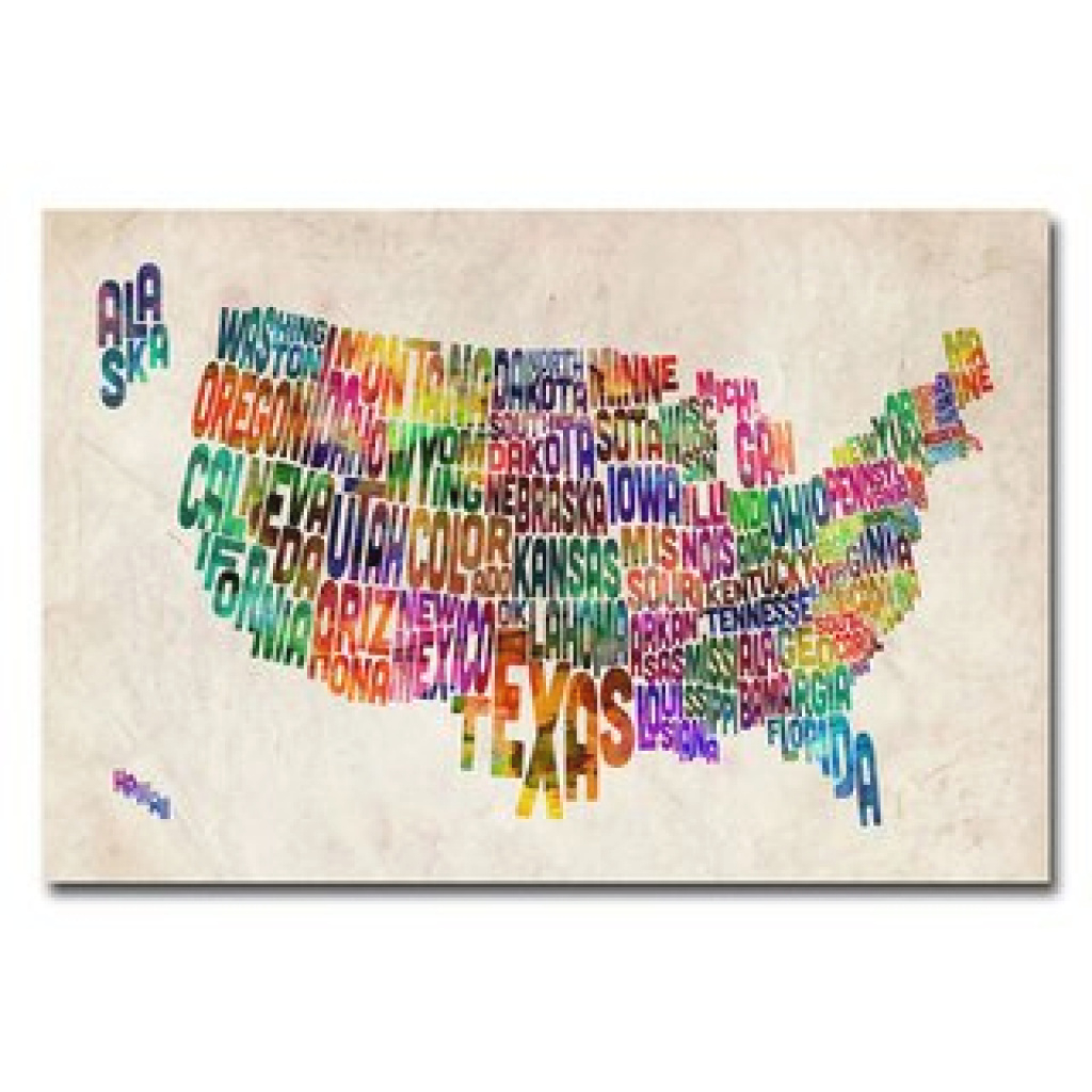 Top Product Reviews For Michael Tompsett 'united States Text Map for United States Product Map