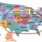 Tornado Risk Report Reveals Tornado Alley Could Cover All States Intended For Tornado Alley States Map