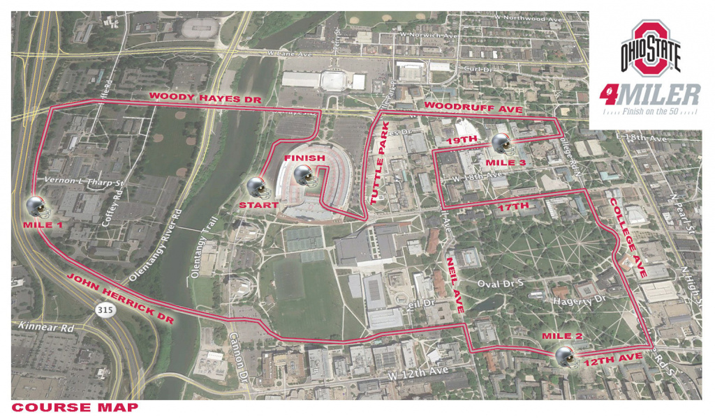 Traffic And Parking Update – Nov. 8 – Nov. 10, 2013 – Ohio State in Ohio State Parking Map