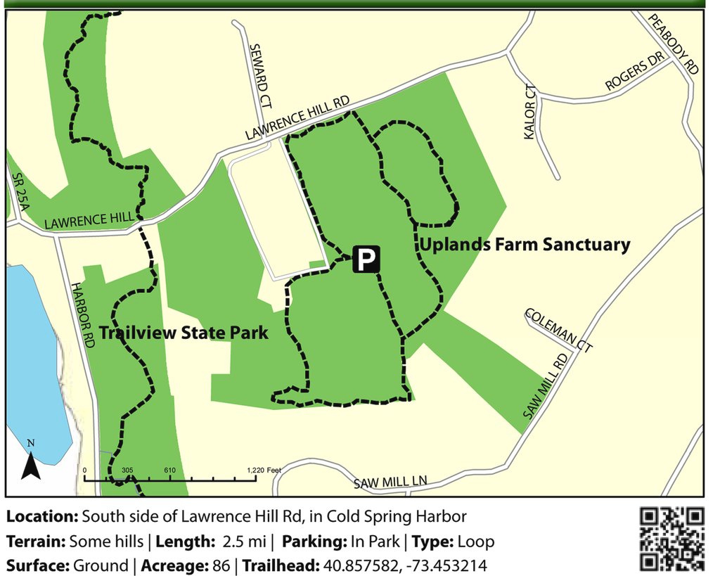 Trail View State Park And Uplands Farm Sanctuary - Maplets with Trailview State Park Trail Map