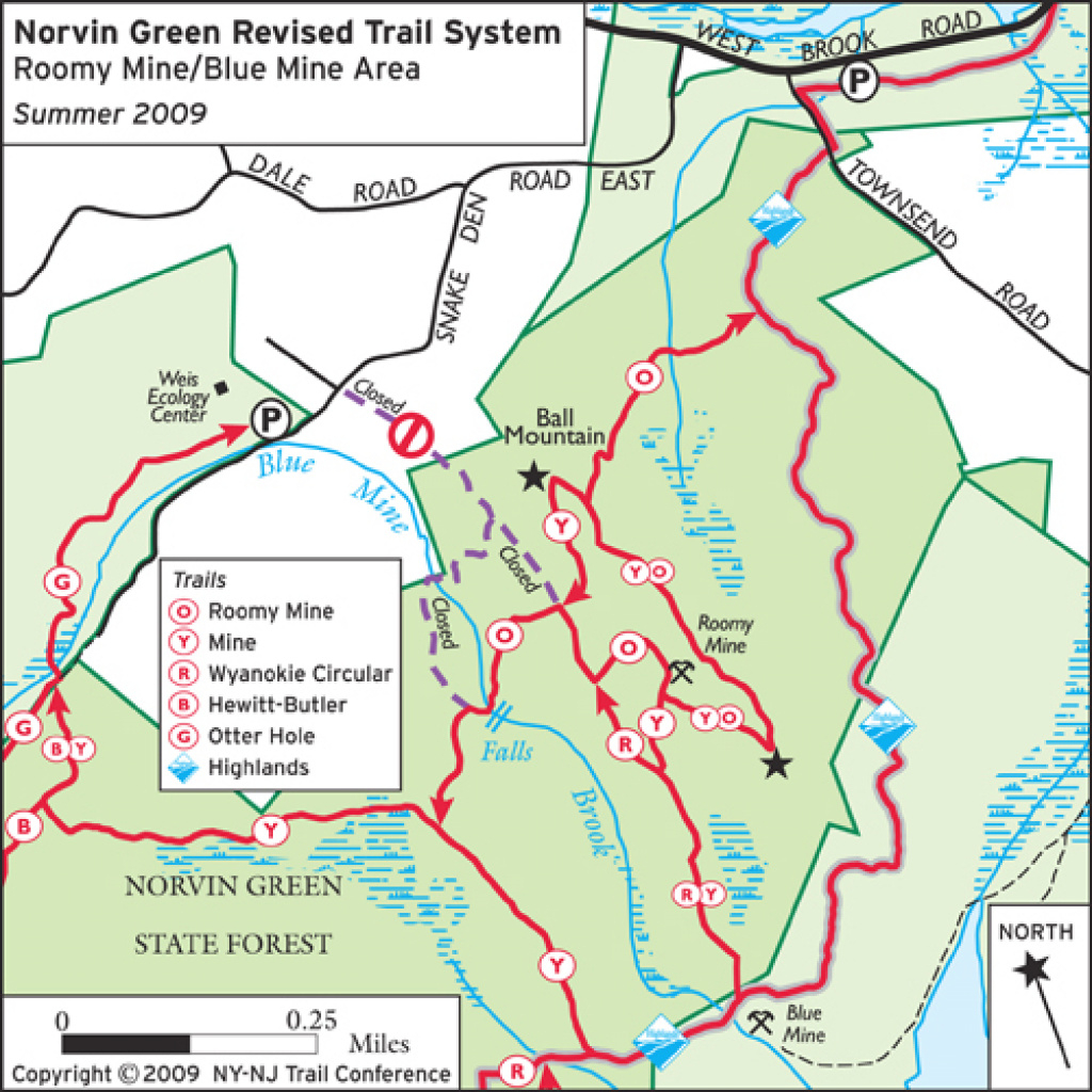 Trailhead Closed For Mine Trail/wyanokie Circular In Norvin Green inside Townsend State Forest Trail Map