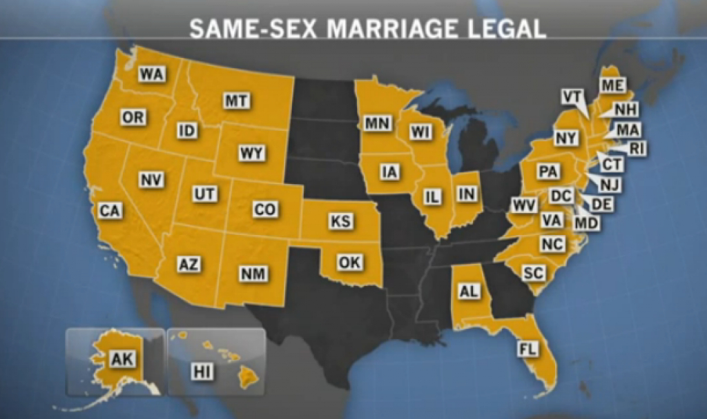 Transexuality, Transgenderism, And Gender Identity intended for Map Of States Legalized Gay Marriage