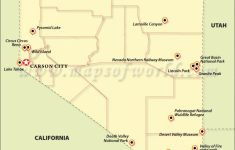 Travel Attractions In Nevada | Places To Visit In Nevada intended for Nevada State Parks Map