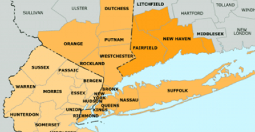 Tristate Player Of Year Poll: Here's Your Choice For Top Player In pertaining to Map Of Tri State Area Ny Nj Ct