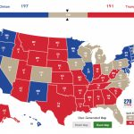 Trump's Battleground Map Makes Rosy Assessments Of Toss Up States Pertaining To Trump States Map