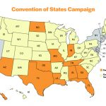U.s. Constitution Threatened As Article V Convention Movement Nears Within Convention Of States Map