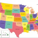 U.s. Map Of Most Iconic Athlete From Each State   Mandatory Pertaining To Us State Map Test