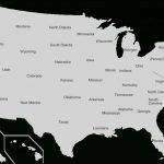 U.s. State   Wikipedia Regarding Map Of Usa Showing All States