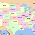 U.s. States Bordering The Most Other States   Worldatlas Inside Google Maps With State Borders