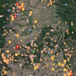 U.s. Wildfire Map   Wildfire, Forest Fire, And Lightning Map For The Within Washington State Fire Map 2017