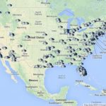 Ufo Heat Maps Compared To Military Locations And Population | Top For Military Bases United States Map