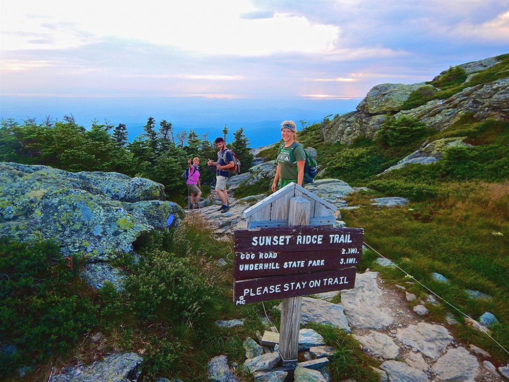 Underhill State Park/mount Mansfield West: Hiking Trails - Trail Finder intended for Underhill State Park Trail Map