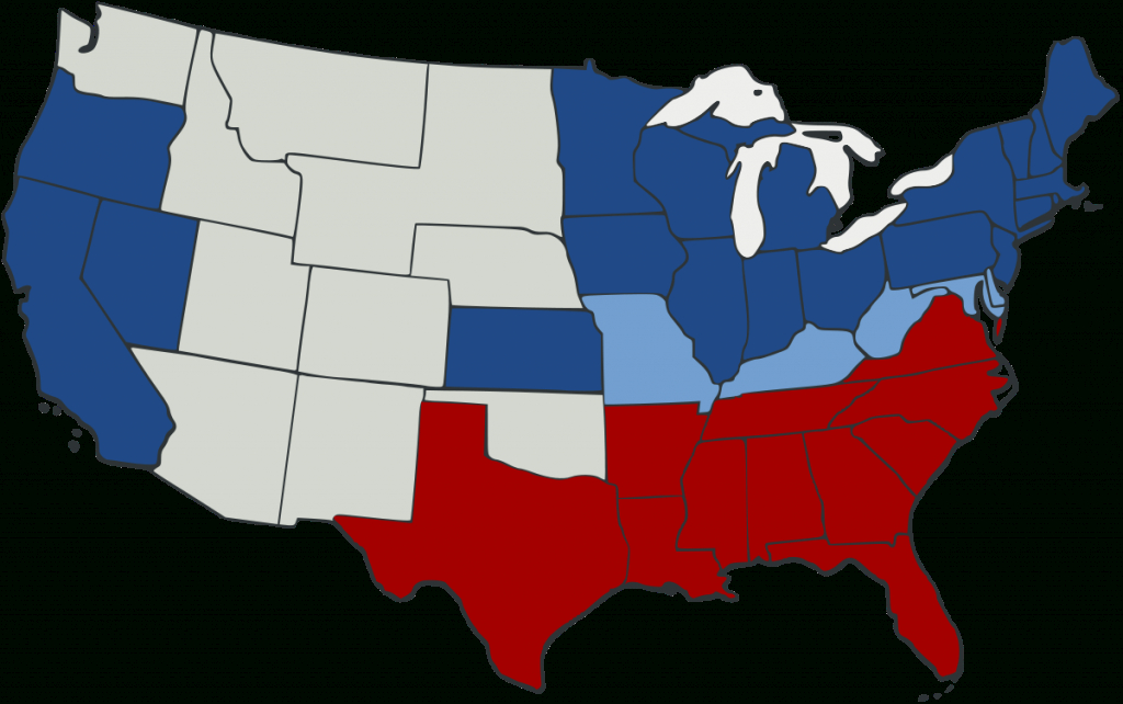 Union (American Civil War) - Wikipedia within Civil War Border States Map