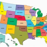 United State Map And Capitals Valid United States Map Capitals Intended For United States Of America Map With Capitals