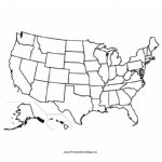 United States Blank Map For Blank State Map
