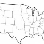 United States Blank Map | N3X Within Blank Map Of United States In 1860