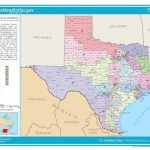 United States Congressional Delegations From Texas   Wikipedia Intended For Texas State House District Map