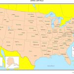 United States Labeled Map Throughout A Labeled Map Of The United States