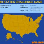 United States Map Game   50 States Challengedexterfly | Codecanyon Throughout State Map Game