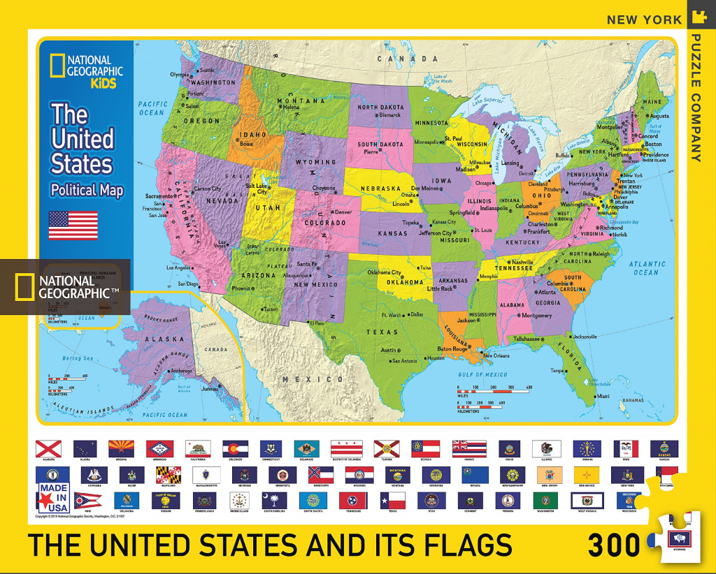 United States Map Jigsaw Puzzle | Jigsaw Puzzles For Adults pertaining to United States Features Map Puzzle