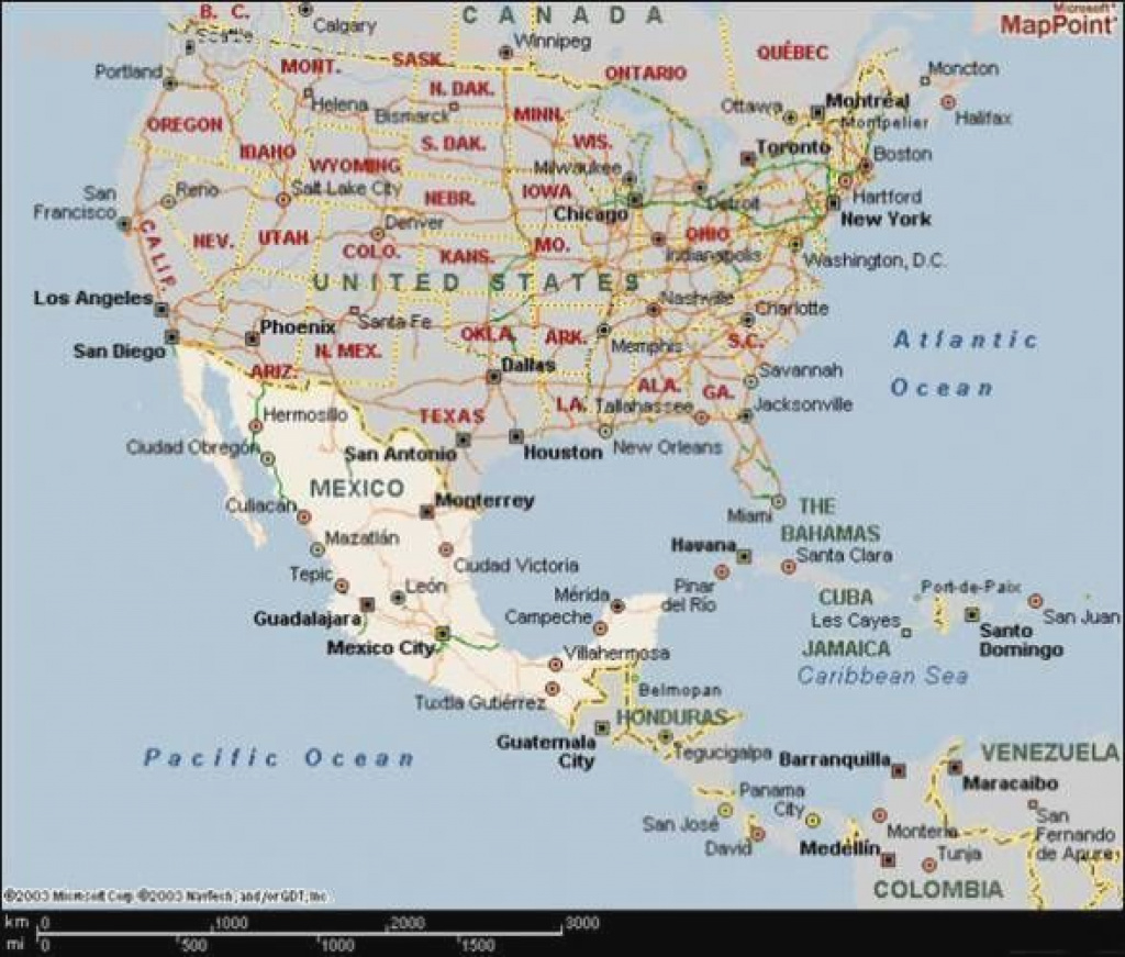 United States Map Mexico | Holiday Map Q | Holidaymapq ® within Mexico And The United States Map