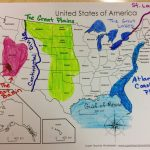 United States Map Physical Features And Travel Information Regarding United States Features Map Puzzle