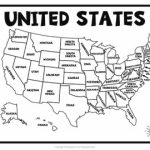 United States Map Quiz & Worksheet: Usa Map Test With Practice Regarding Map Quiz The States