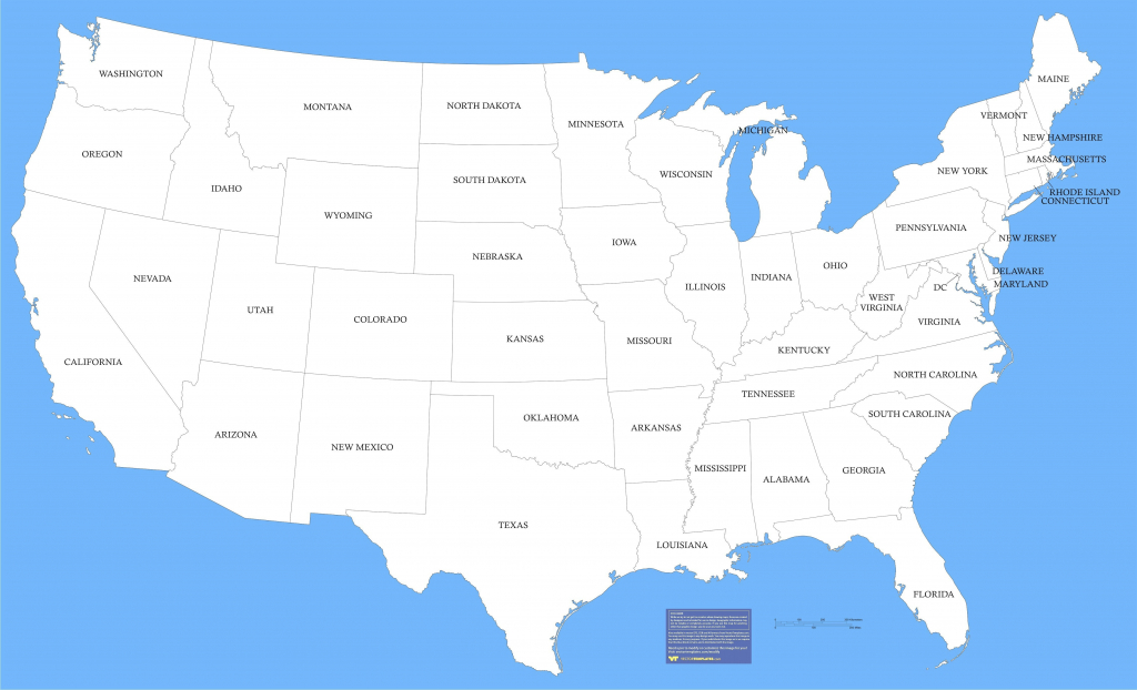 United States Map State Lines Valid United States Map With States for Us Map With State Lines