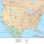 United States Map States And Cities And Travel Information In State Map With Cities