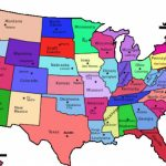 United States Map With State Names Us Map Capitals Of The United Intended For United States Map With Capitols