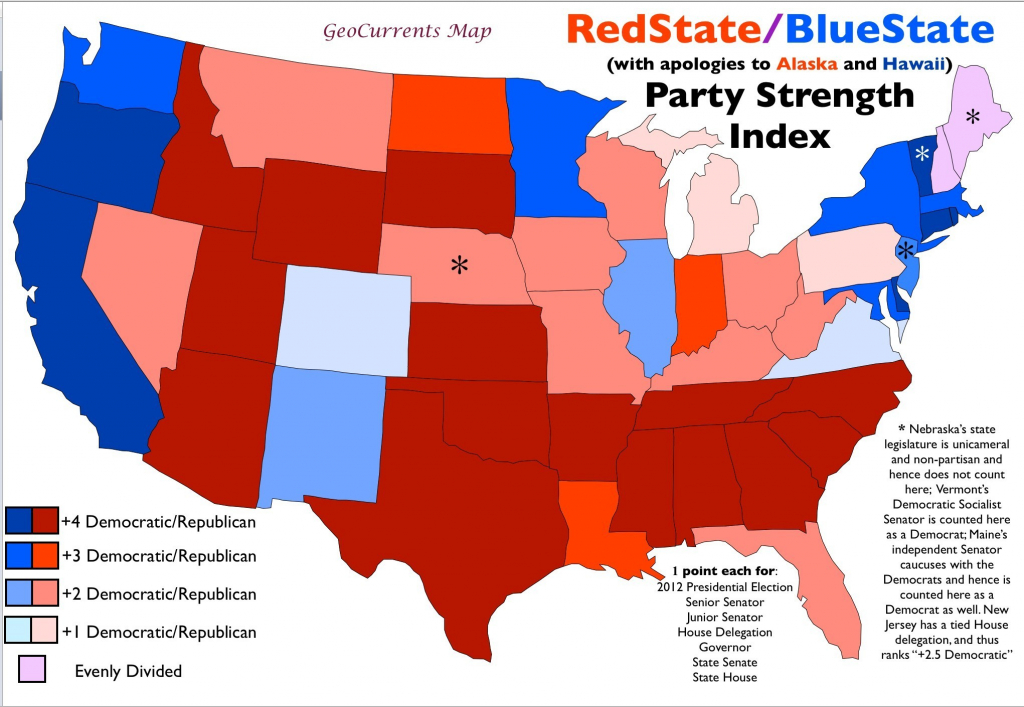 United States Mappolitical Party 2014 Refrence New Us Map inside Republican States Map