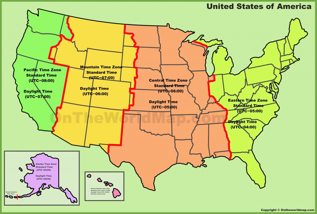 United States Of America Time Zone Map New Map United States Time for United States Of America Time Zone Map