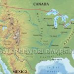 United States Physical Map For Physiographic Map Of The United States