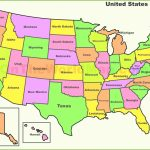 United States Political Map Hd Image | Whatsanswer For United States Political Map